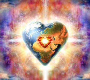 сердечко-земля