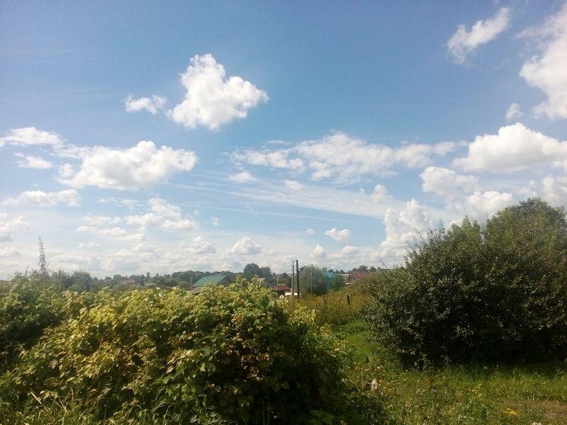 небо на станции klein