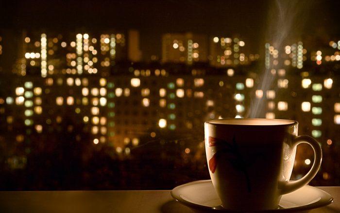 ночь-кофе